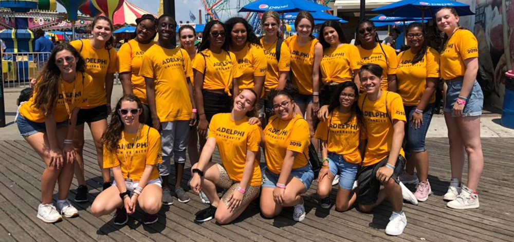 A Trip to Coney Island with Adelphi Pre-College